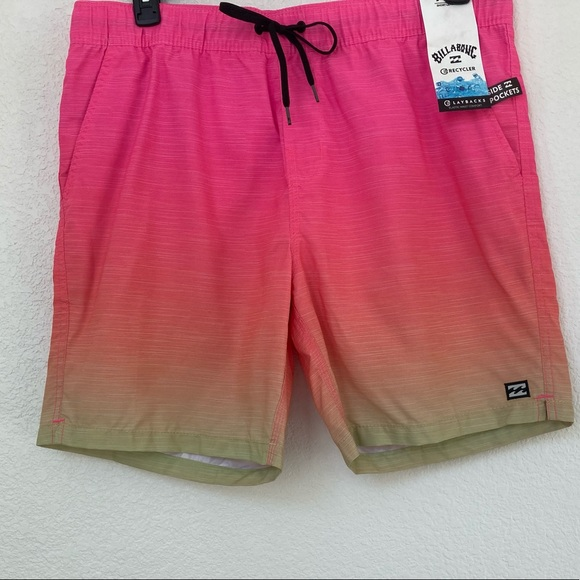 Billabong All Day Fade Ombré Board Shorts XL NWT